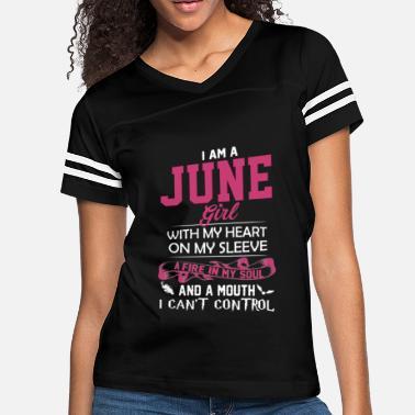 827b02761 June Birthday Shirts June Girl Tee June Girl Shirt - Women's Vintage.  Women's Vintage Sport T-Shirt