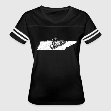 Sled Snowmobile Snowmachine Shirt Tennessee Snowmobile Sled Shirt - Women's Vintage Sport T-Shirt