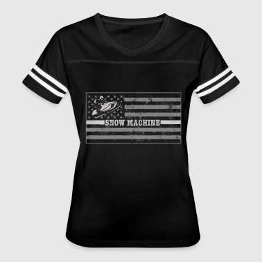 Hockey Flag Clothing Snowmobile Flag Snowmobile Clothing Tshirt - Women's Vintage Sport T-Shirt