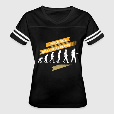 Guitar Player Evolution Evolution Of A Guitar Player Guitar Player Gift Idea - Women's Vintage Sport T-Shirt