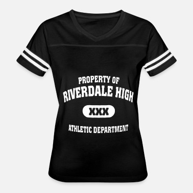 Adult Xxx Property of riverdale high xxx athletic department - Women's Vintage Sport T-Shirt