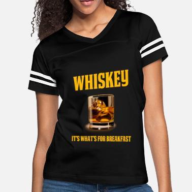 bf281126 Funny Whiskey Drinker Gift Whiskey Design It's What's. Women's  Vintage Sport T-Shirt