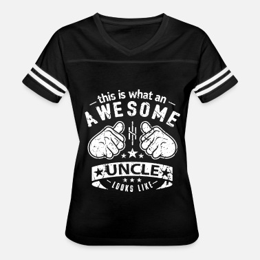 This Is What An Awesome Uncle Looks Like This Is What An Awesome Uncle Looks Like - Women's Vintage Sport T-Shirt