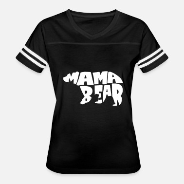 Mama Bear Clothes Mama Bear Cute PreganDesign - Women's Vintage Sport T-Shirt