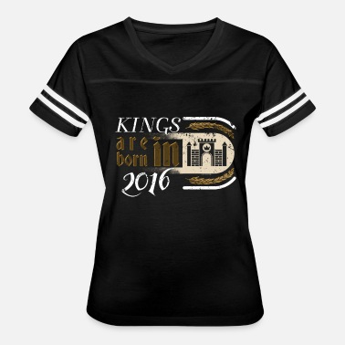 Valentines Day 2016 Gothic Birthday Kings Castle Born 2016 - Women's Vintage Sport T-Shirt