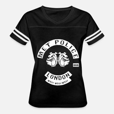 London Police Met Police Bent Coppers London Biker - Women's Vintage Sport T-Shirt