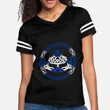 bb54e5765d0 Scotland Wife Scotland Flag Scottish Thistle scotland T Shirt - Women  39 s  Vintage