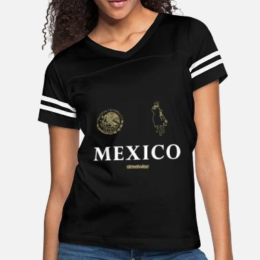 Sex Skeletons Streetwise Narco Polo Mexico Chicano Pancho Villa - Women's Vintage Sport T-Shirt