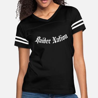 712ff5728 Las Vegas Raiders Raider Nation Addict Raiders Las Vegas Fan Footbal -  Women'. Women's Vintage Sport T-Shirt