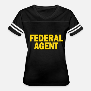 Federal Agent Federal Agent Police Officer Cop Law Enforcement P - Women's Vintage Sport T-Shirt