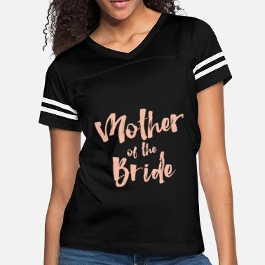 Brides Mom mother of the bride mom t shirts - Women's Vintage Sport T-Shirt