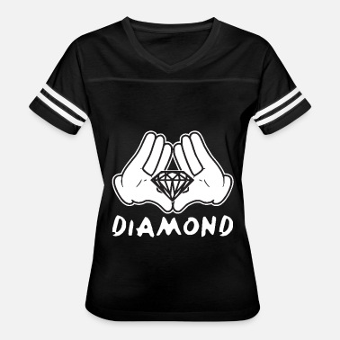 Cartoon Hands Dope Cartoon Hands Diamond most dope illuminati diamond - Women's Vintage Sport T-Shirt