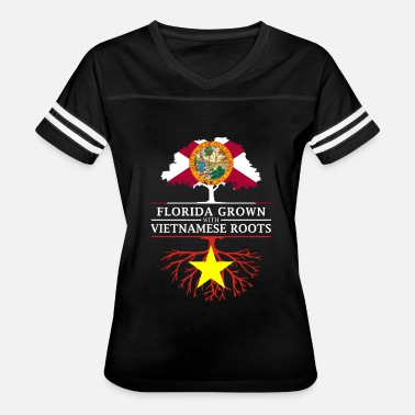 Proud Vietnamese Roots Florida Grown with Vietnamese Roots Design - Women's Vintage Sport T-Shirt