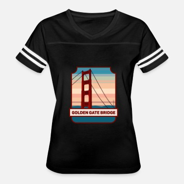 Bridge Golden Gate Bridge - Women's Vintage Sport T-Shirt
