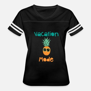 Vacation Mode Vacation Mode Pineapple With Sunglasse - Women's Vintage Sport T-Shirt