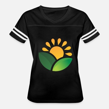 Obscure Sunrise Obscured Leaves - Women's Vintage Sport T-Shirt