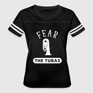 Tuba - Tuba Music - Fear The Tubas - Women's Vintage Sport T-Shirt