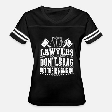 Barrister Funny Lawyer Attorney Shirt Don't Brag - Women's Vintage Sport T-Shirt