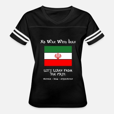 Pakistan Middle East Iran - No War With Iran - Women's Vintage Sport T-Shirt