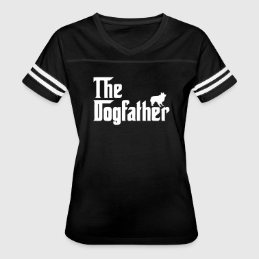 The Dogfather Parody - Women's Vintage Sport T-Shirt