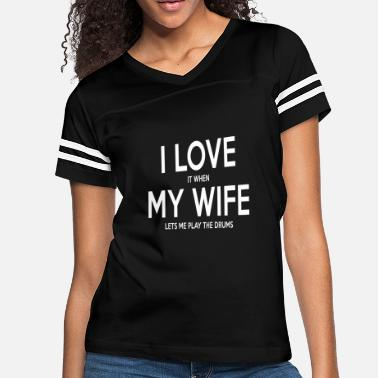 Birthday Gift Husband Funny Drummers Shirt For