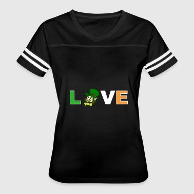 Kobold Love st. Patricks day shirt - Women's Vintage Sport T-Shirt