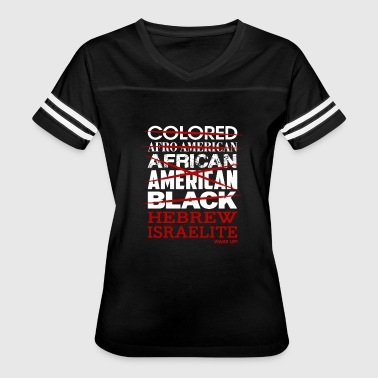 Hebrew Israelite I'm Not Colored African American - Women's Vintage Sport T-Shirt