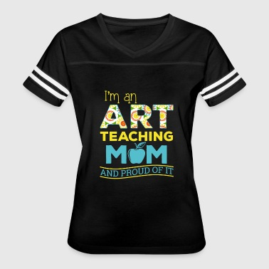 Reading Is Our Thing Art teaching mom - Women's Vintage Sport T-Shirt