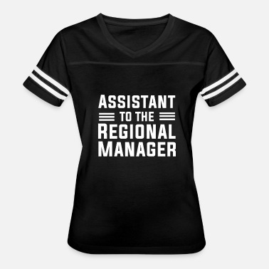 Regional Assistant To The Regional Manager T Shirt - Women's Vintage Sport T-Shirt