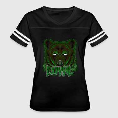 Cool Brown Bear Bear Grizzly Trendy Gift - Women's Vintage Sport T-Shirt