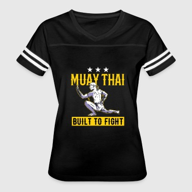 Fighting Muay Thai Muay Thai - Built to fight - Women's Vintage Sport T-Shirt