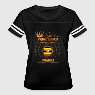 love princesses come from UGANDA - Women's Vintage Sport T-Shirt
