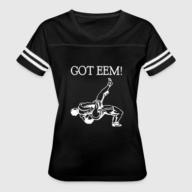 Eemeli Caught Eem Slipping T-shirt - Women's Vintage Sport T-Shirt