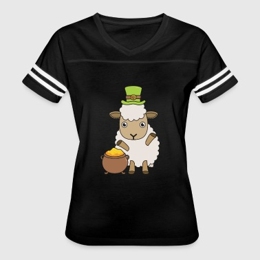 Irish Sheep Farmer St Patrick's Day Gift - Women's Vintage Sport T-Shirt
