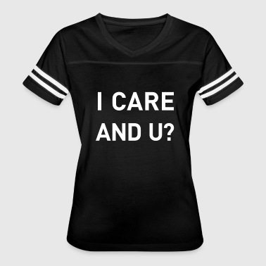 Environment I care and you? refugee aid environment - Women's Vintage Sport T-Shirt