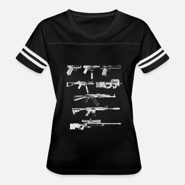 Recognize Video Game - Guns of Counter Strike Real Life - Women's Vintage Sport T-Shirt
