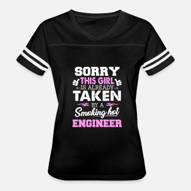 Engineer Girlfriend Engineer Shirt Cool Gift for Girlfriend - Women's Vintage Sport T-Shirt