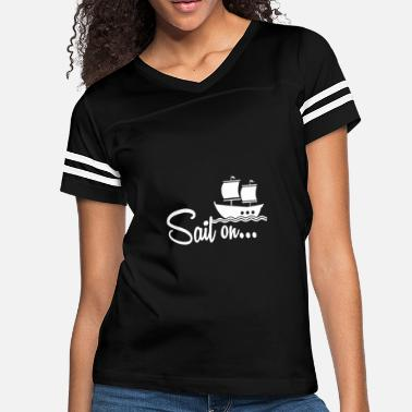 Shipping Ship - Women's Vintage Sport T-Shirt