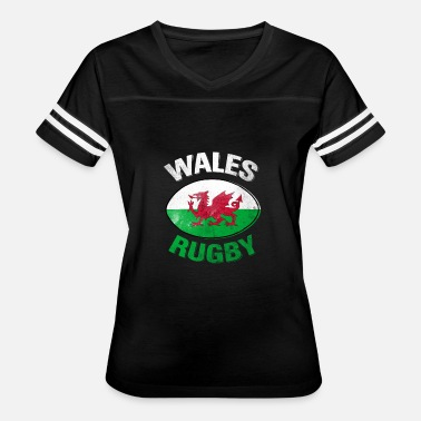Wales Rugby Wales Rugby Shirt - Women's Vintage Sport T-Shirt