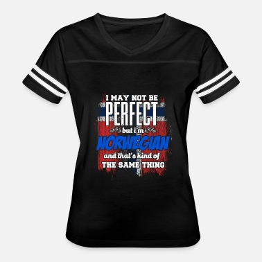 Norwegian Heritage Perfect Norwegian - Women's Vintage Sport T-Shirt