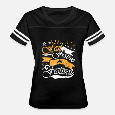 Tomorrowland Festival FEST FESTIVE ON FESTIVAL - Women's Vintage Sport T-Shirt
