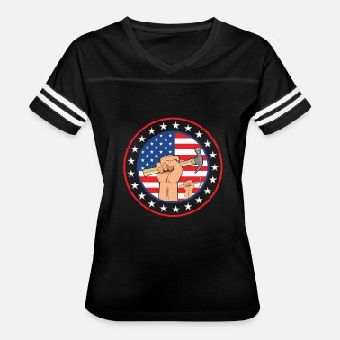 Labor Day Labor Day - Labor Flag - Women's Vintage Sport T-Shirt