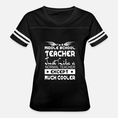 Middlesex I m A Middle School Teacher Just like a Normal Tea - Women's Vintage Sport T-Shirt