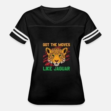 Move Like Jagger Big Cats - Got The Moves Like Jaguar - Women's Vintage Sport T-Shirt