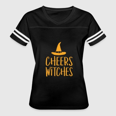 Cheer Halloween Cheers Witches Funny Halloween - Women's Vintage Sport T-Shirt