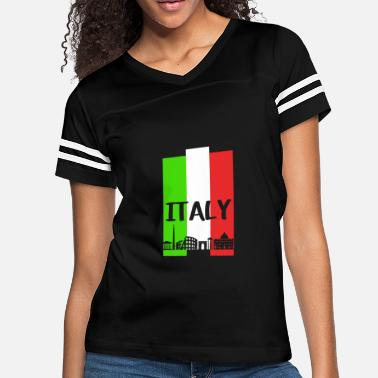 Italy ITALY - Women's Vintage Sport T-Shirt