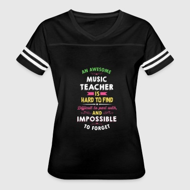 Music Teacher Appreciation Gift - Women's Vintage Sport T-Shirt