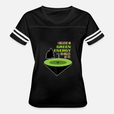 18-hole Golf Sports Funny Sayings Green Energy Gift Idea - Women's Vintage Sport T-Shirt