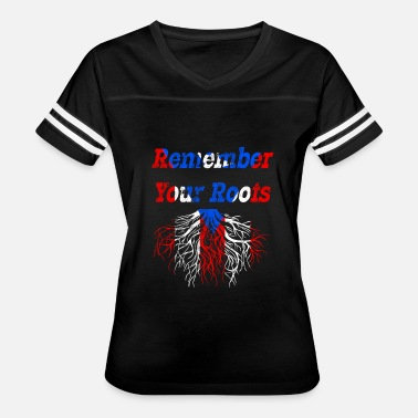 Home Puerto Rico Remember Your Roots Puerto Rico - Women's Vintage Sport T-Shirt