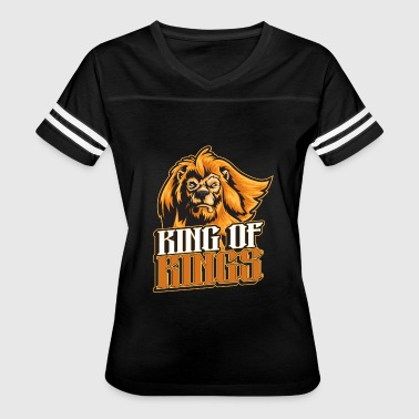 Majestic Animal Animals majestic lion king of kings - Women's Vintage Sport T-Shirt